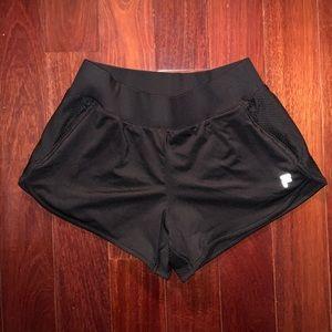 Fila Shorts - Fila Women's Black Athletic Shorts